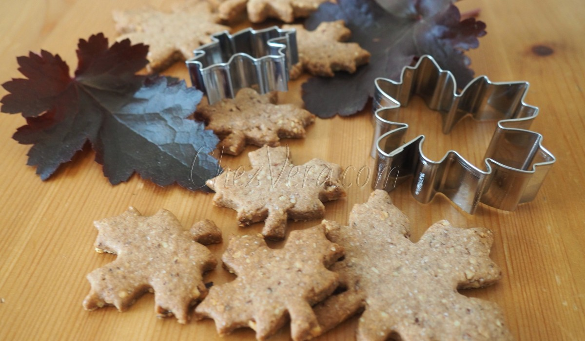 Autumn Leaves with Hazelnuts