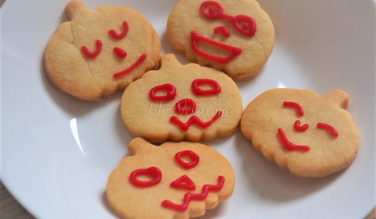 Halloween Shortbread Cookies