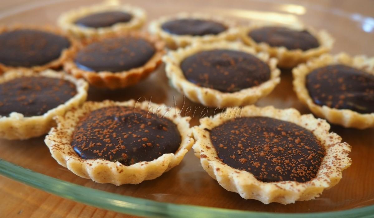 Les mini-tartelettes au chocolat – recette de Jacques Génin