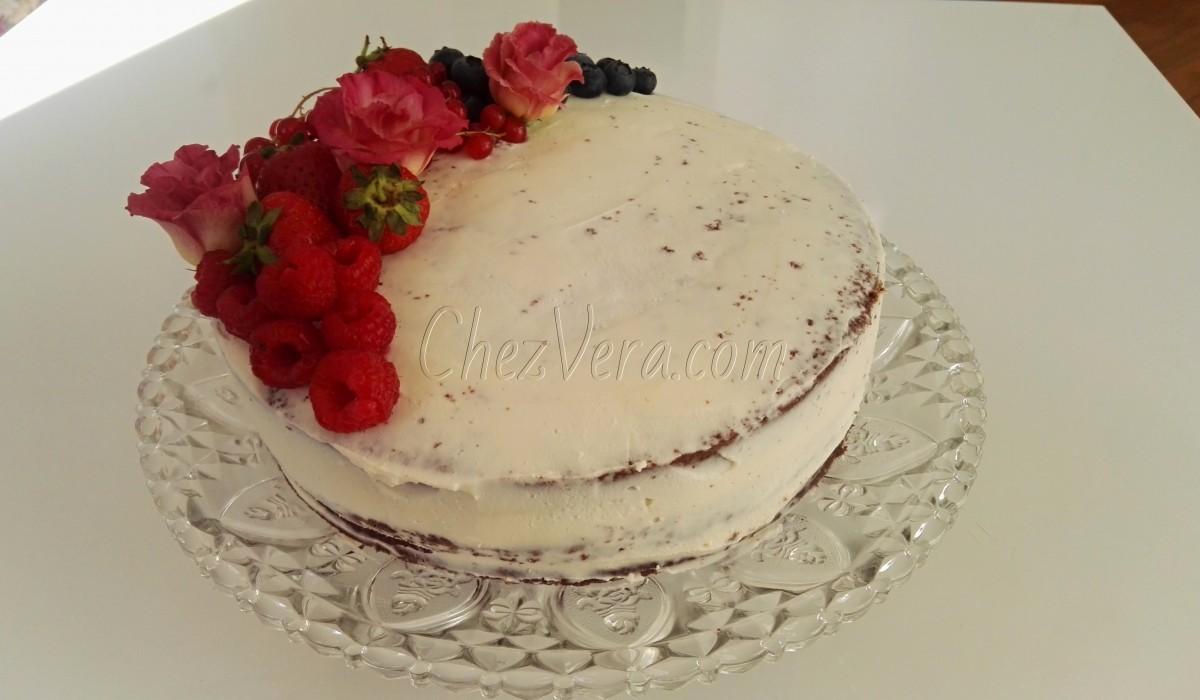 Gluten-free cocoa-almond cake - ultra light