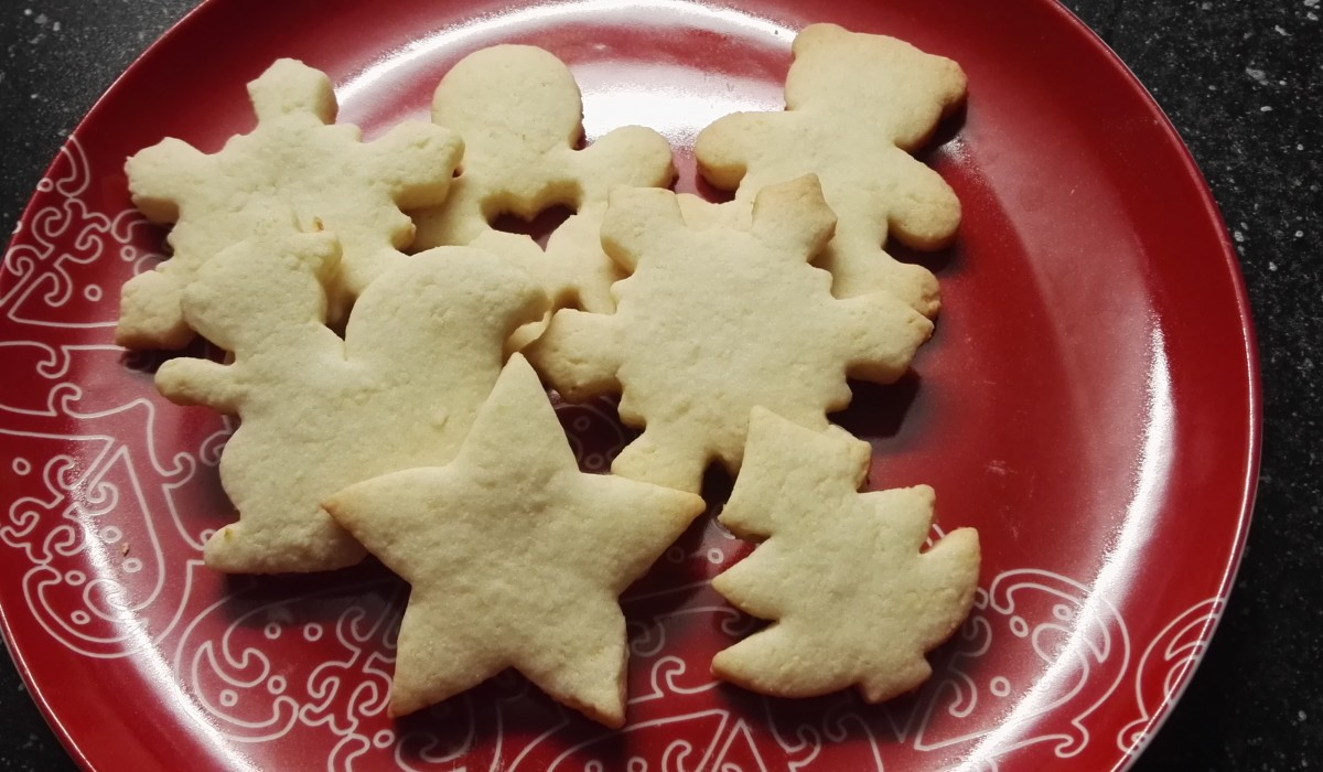 Almond Shorbread Cookies