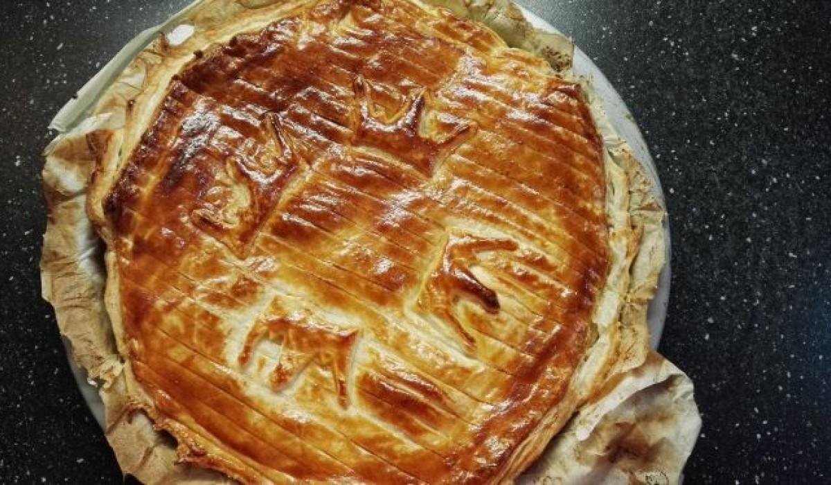 King Cake with frangipane (Galette des rois)