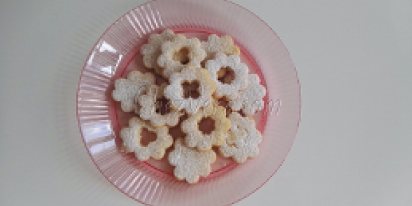 Extra Soft Shortbread Flowers