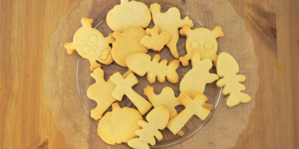 Halloween Shortbread Cookies – Vera's Recipe