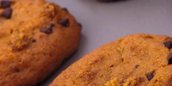 Biscuits au potiron et chocolat