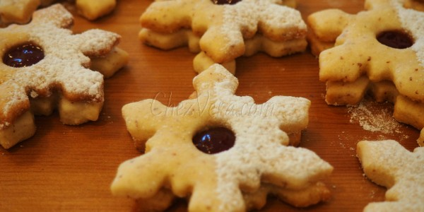 Snowflakes with Jam – To keep warm in winter