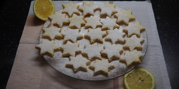 Coconut & Lemon Biscuits