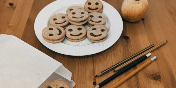 Smiley aux noisettes