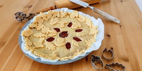 Linzertorten - decorated jam tart