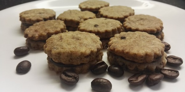 Coffee Shortbread Biscuits