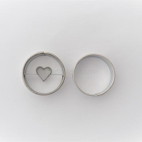Circle II whit heart + circle