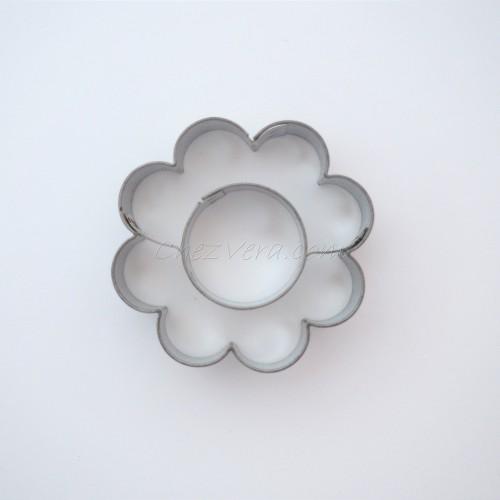 Emporte-pièce Fleur avec grand rond