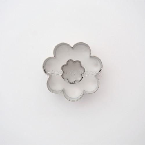 Linzer Ausstechform – Blume (mittelgroß)