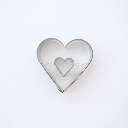 Heart medium with large heart