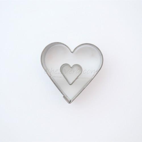Linzer Ausstechform – Herz (mittelgroß)