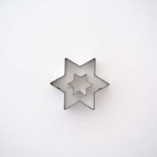 Emporte-pièce Etoile petite avec étoile