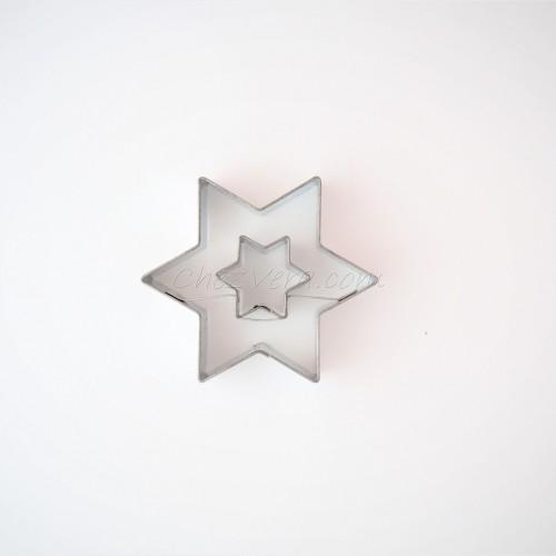 Linzer Ausstechform – Stern (mittelgroß)