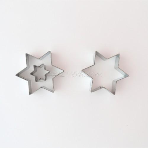Linzer Cookie Cutters Set – Star (medium)