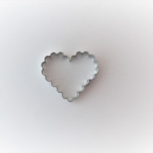 Emporte-pièce Coeur ondulé