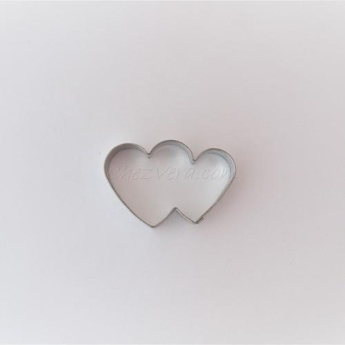 Emporte-pièce Double coeur – petit