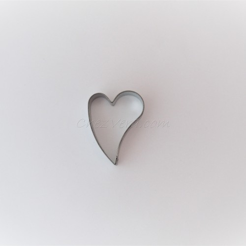 Emporte-pièce Coeur penché – moyen
