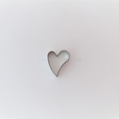 Emporte-pièce Coeur penché – petit