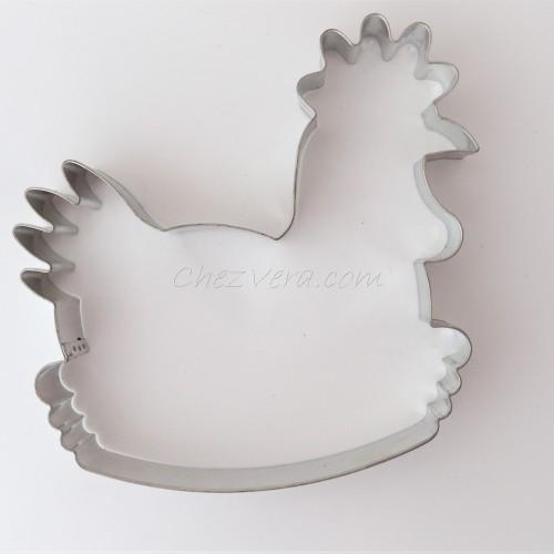 Cookie Cutter Hen in Basket