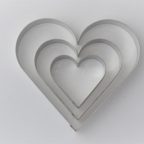 Cœur – set de 3 pièces