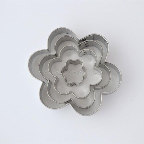 Fleur grande – set de 4 pièces