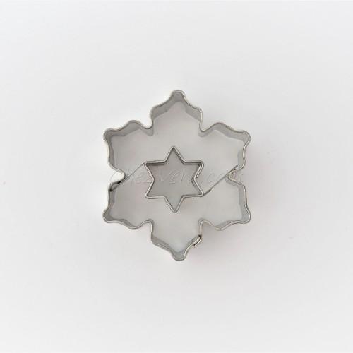 Flocon de neige II avec étoile