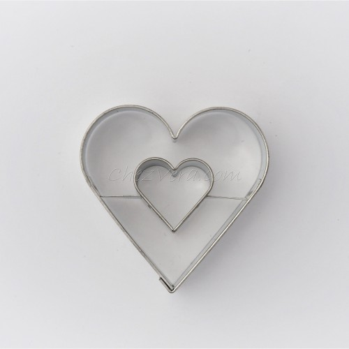 Heart with large heart