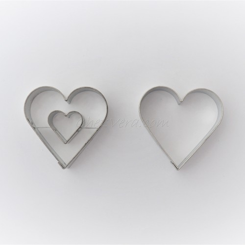 Linzer Cookie Cutters Set – Heart (large)