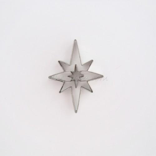 Linzer Cookie Cutter – Star (spiky)