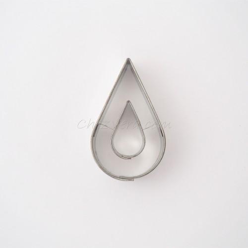 Emporte-pièce Goutte d'eau avec goutte