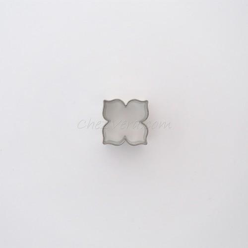 Ausstechform Lilie mit 4 Blütenblättern