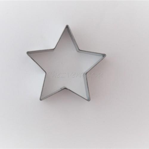 Cookie Cutter  five-pointed Star – medium