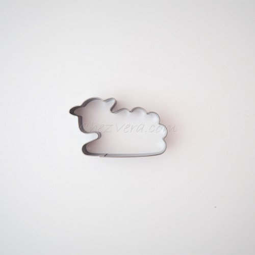 Cookie Cutter Sheep (laying)