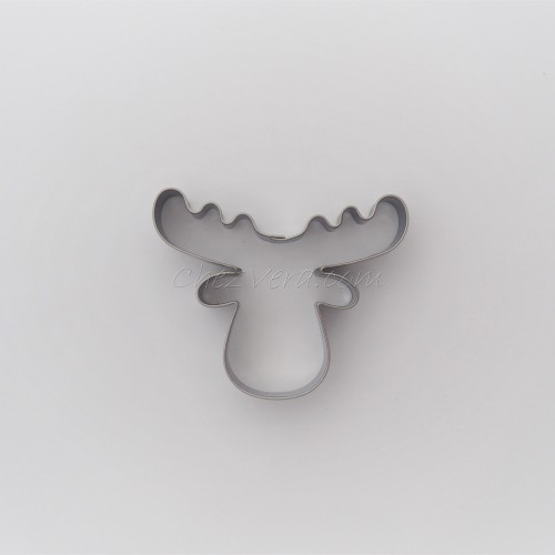 Cookie Cutter Reindeer Head