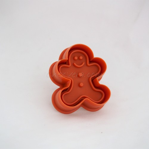 Cookie Cutter with Ejector – Gingerbread Man
