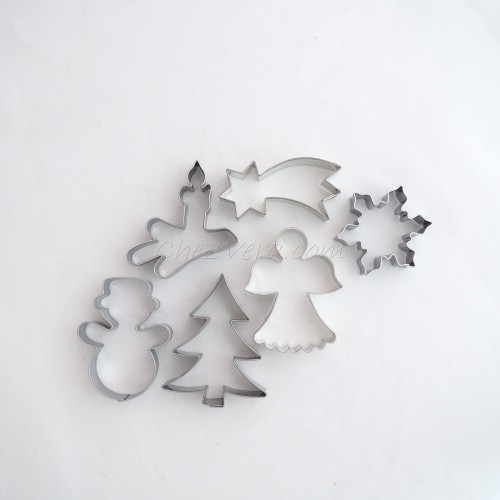 Cookie Cutters Set Christmas