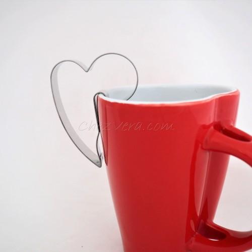 Emporte-pièce  accroche Tasse Coeur