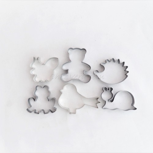 Cookie Cutters Set  Forest Animals