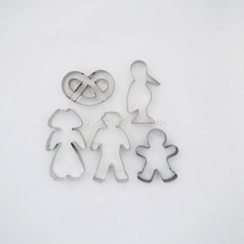 Cookie Cutters Set Alsace