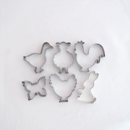 Cookie Cutters Set Easter III