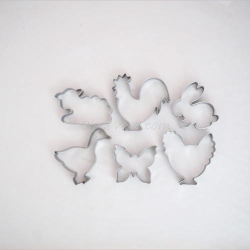 Set d'emporte-pièces pour Pâques I