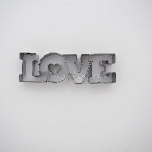 "Cookie Cutter ""LOVE"""