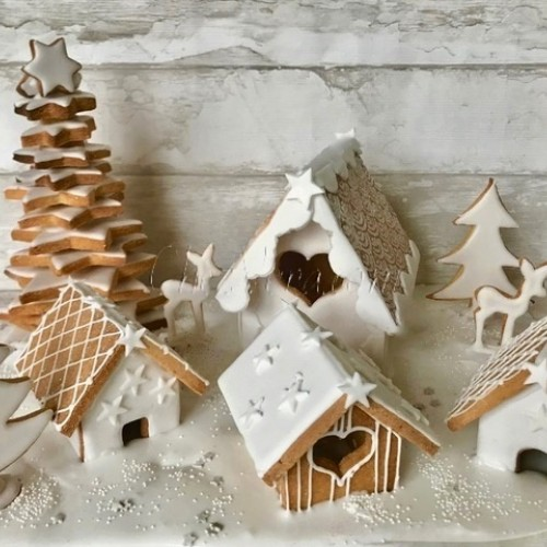 Cookie Cutter Gingerbread House 3D – small