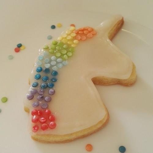 Cookie Cutter Unicorn Head