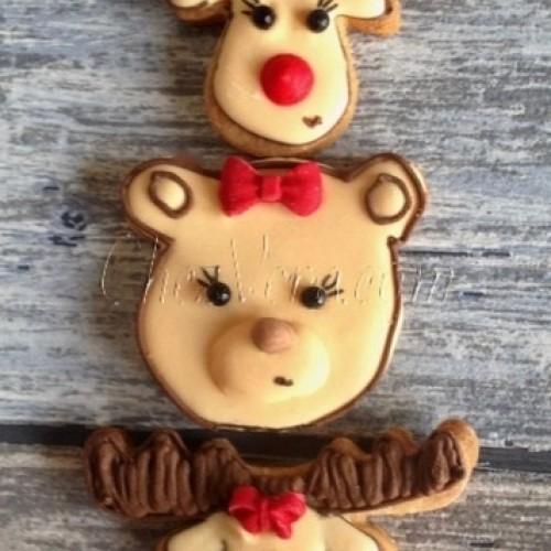 Cookie Cutter Teddy Head