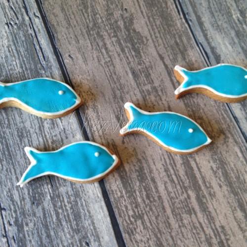 Cookie Cutter Fish VI